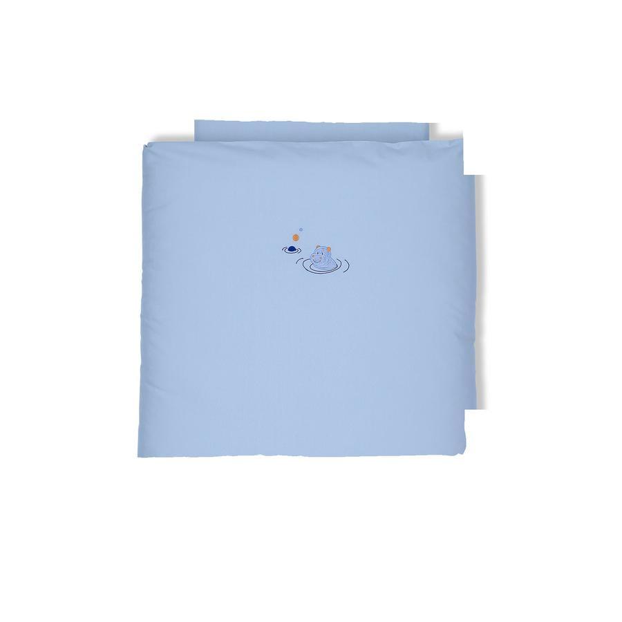 Sterntaler Bettwäsche Norbert blau 80 x 80 cm