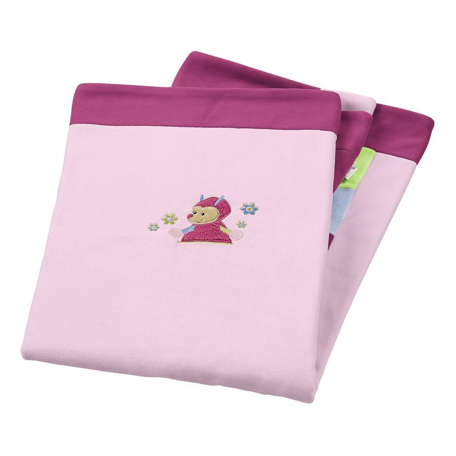 STERNTALER Knuffeldeken Katharina roze