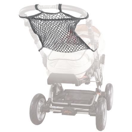 SUNNYBABY universales Kinderwagennetz mit Anker Grau