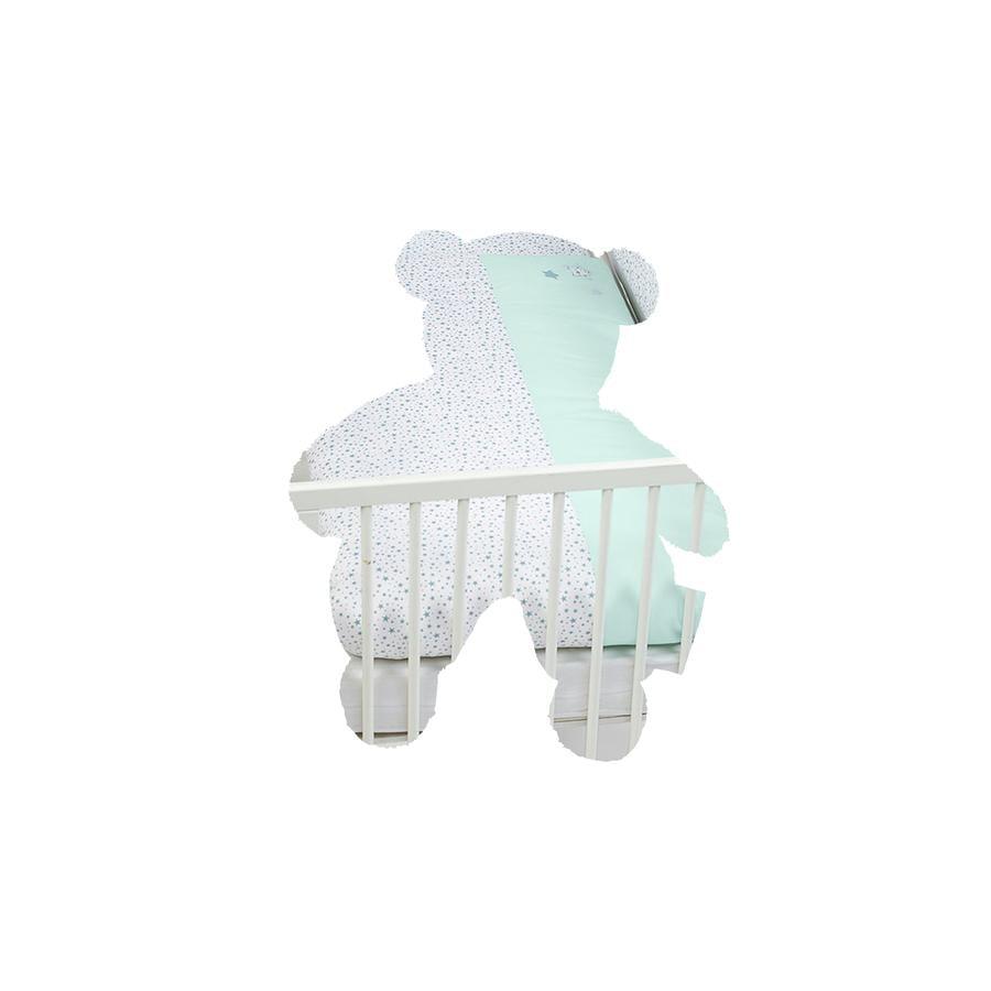 Sterntaler Conjunto de cama Elvis turquesa-gris