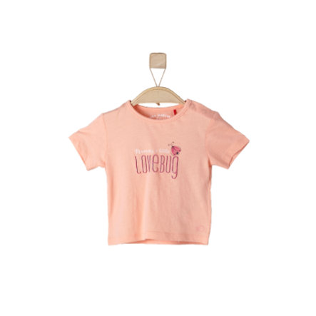 s.OLIVEE Girls T-Shirt light orange