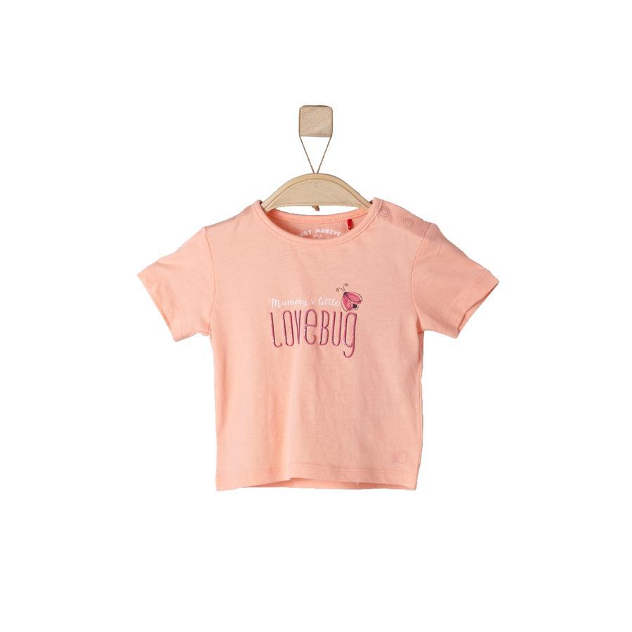 s.OLIVEE Girls T-Shirt light orange