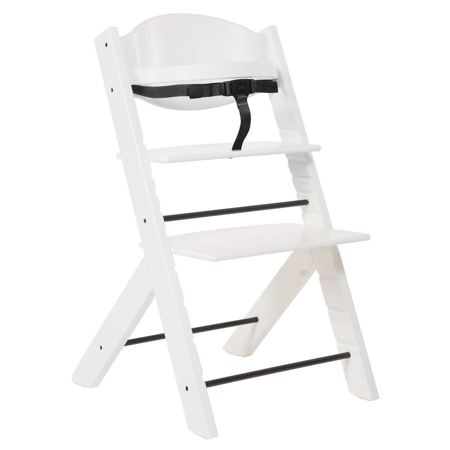 TREPPY Jídelní židlička bílá