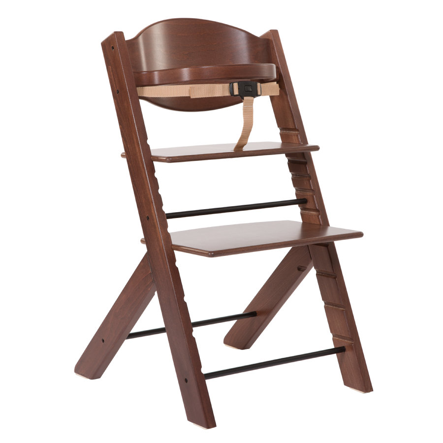 TREPPY Chaise haute, noyer