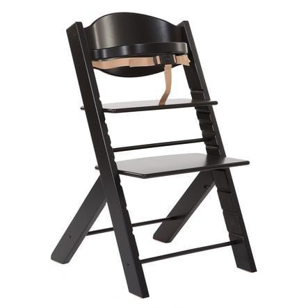 Treppy® Chaise haute bébé, noir