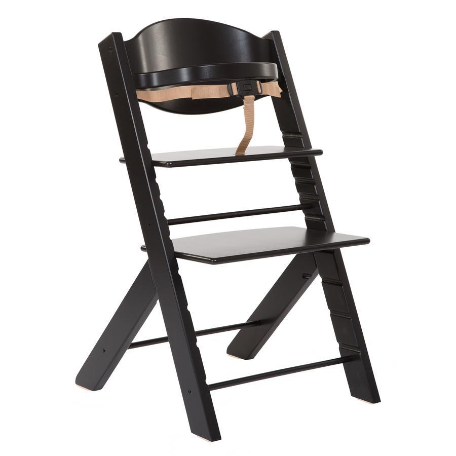 TREPPY Jídelní židlička černá