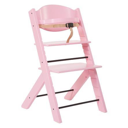 TREPPY Jídelní židlička růžová