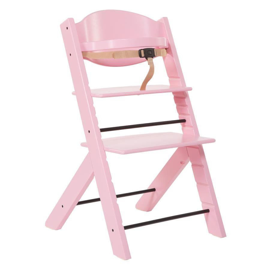 Treppy® Hochstuhl rosa