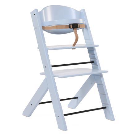 Treppy® Chaise haute bébé, bleu nacré