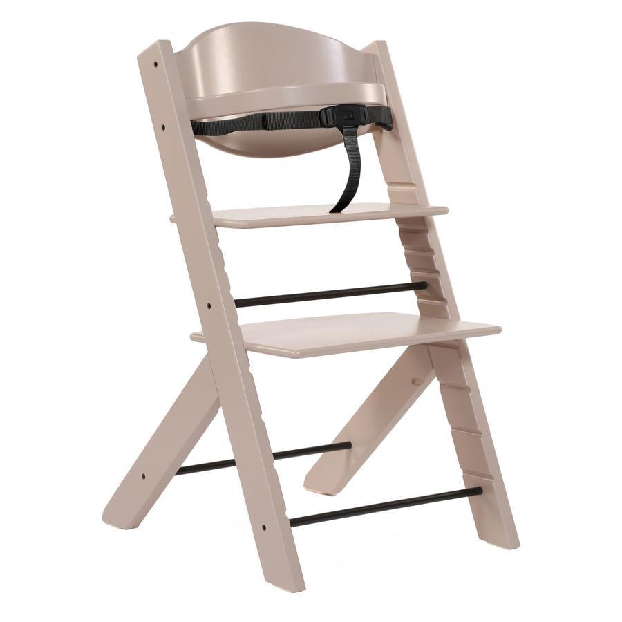 Treppy® Chaise haute bébé, brun nacré