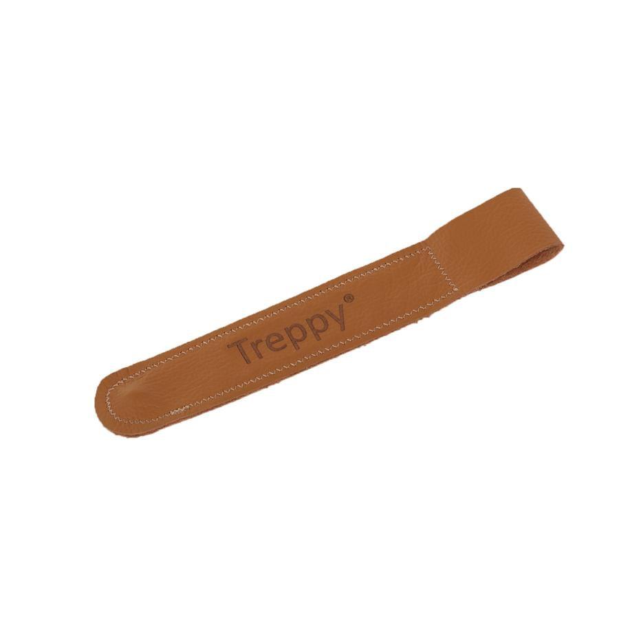 Treppy® Sangle pour chaise haute bébé, cuir | roseoubleu.fr on