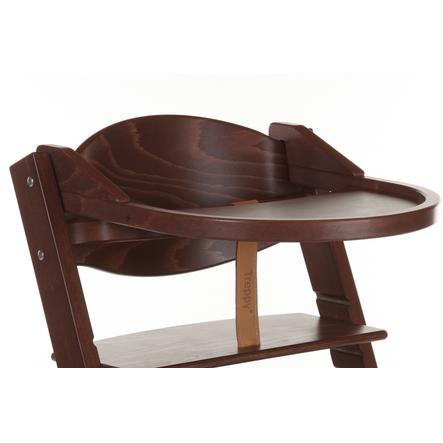Treppy® Tablette pour chaise haute, noyer