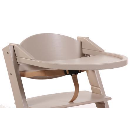 Treppy® Tablette chaise haute bébé, brun nacré