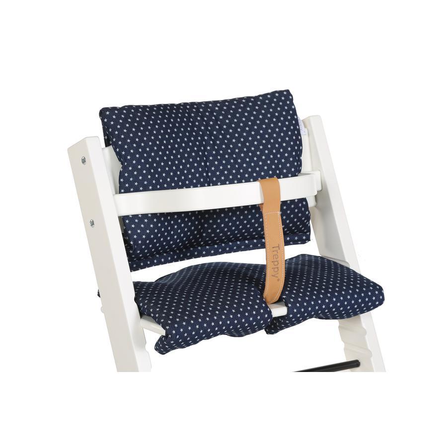 TREPPY Polstrování do jídelní židličky Stars Denim