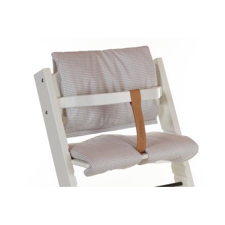 TREPPY Polstrování do jídelní židličky Pepita šedé