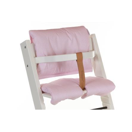 Treppy® Sitzkissen Pepita Rosa