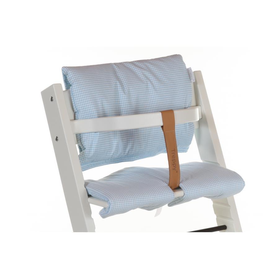 TREPPY Polstrování do jídelní židličky Pepita modré