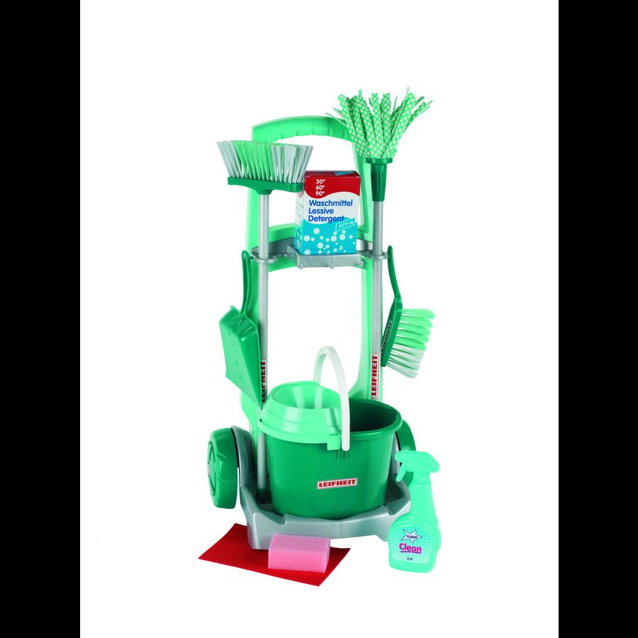 KLEIN Leifheit Wózek z akcesoriami do sprzątania 6562