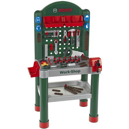 KLEIN BOSCH speelgoed werkbank Work-Shop 75-delig