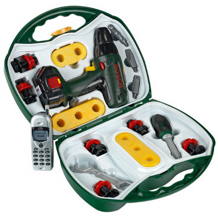KLEIN Bosch speelgoed accuboorkoffer