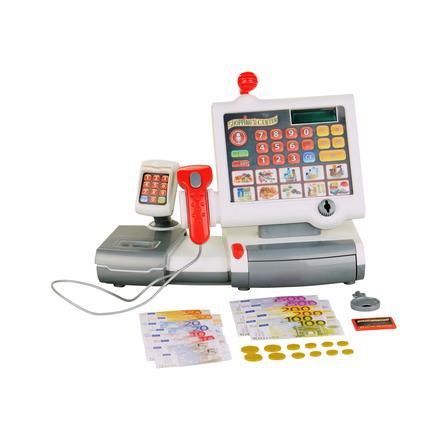 Theo klein elektronisk kassaapparat med folietastatur 9356
