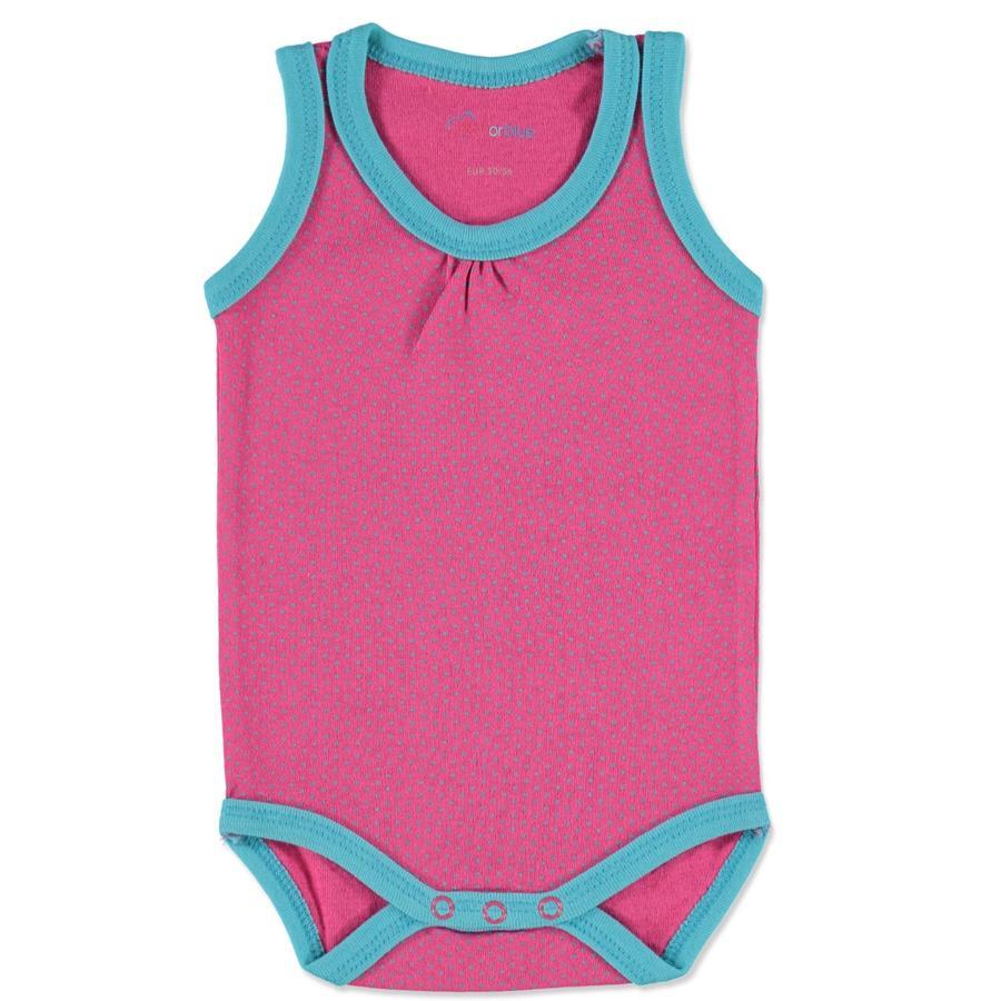 PINK OR BLUE Girls Body na ramiączkach kolor różowy