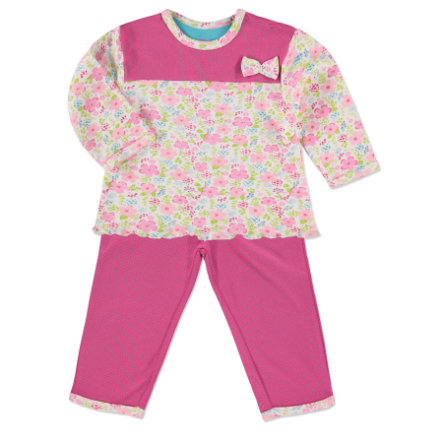 PINK OR BLUE Girl s Pyjama's 2-delig roze