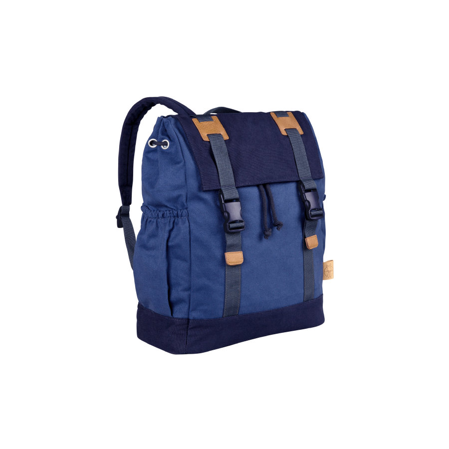 LÄSSIG 4Kids Maz plecak - Little One & Me Backpack kolor niebieski