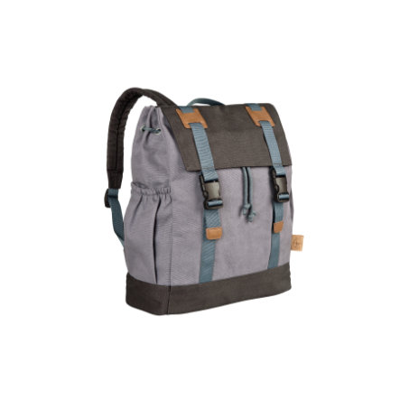 LÄSSIG 4Kids Batoh - Little One & Me Backpack small, grey
