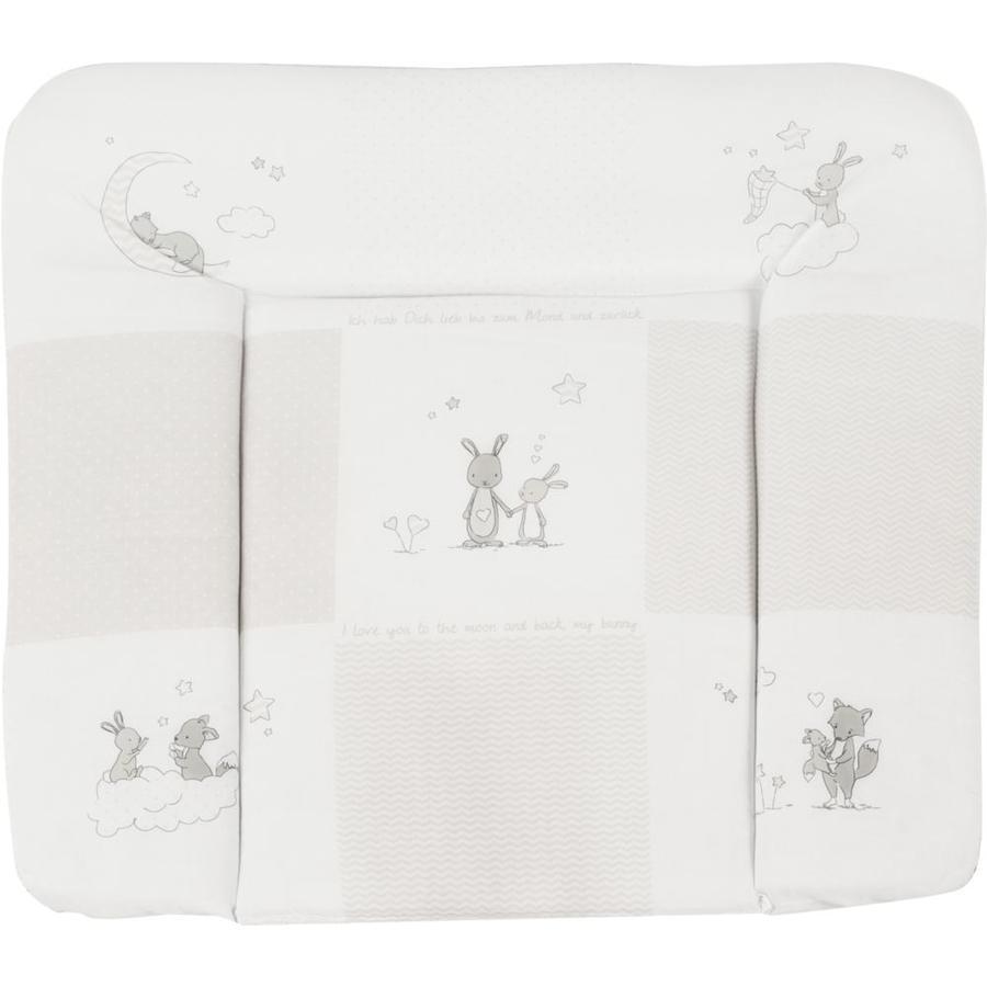 ROBA Přebalovací podložka 75 x 85 cm Fox & Bunny