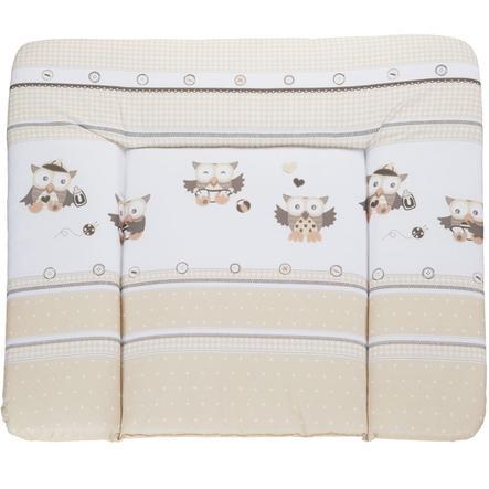 ROBA Cambiador de lámina lavable 85x75cm Diseño lechuzas beige