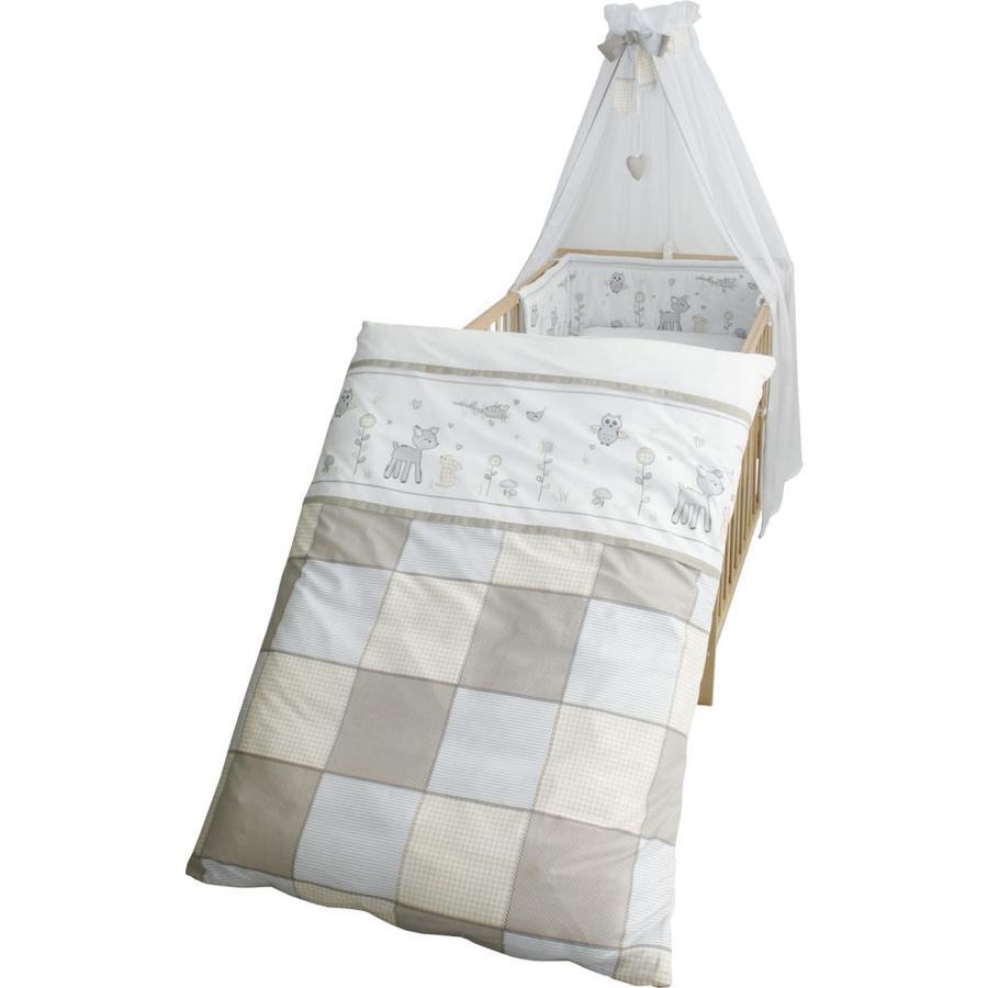 ROBA Set de cama para niños 4 piezas 100x135cm amantes de los animales