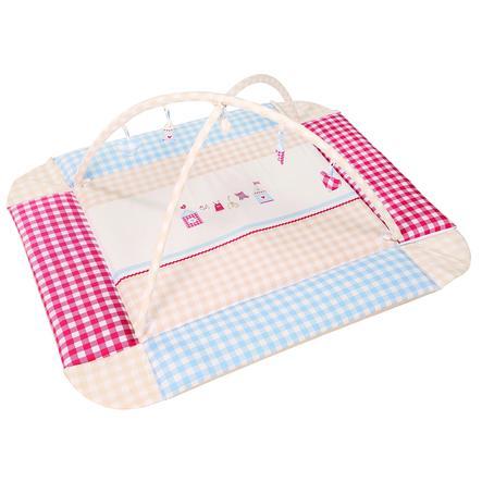 ROBA Babynest Sunny Day mit Spielbogen 125x115 cm