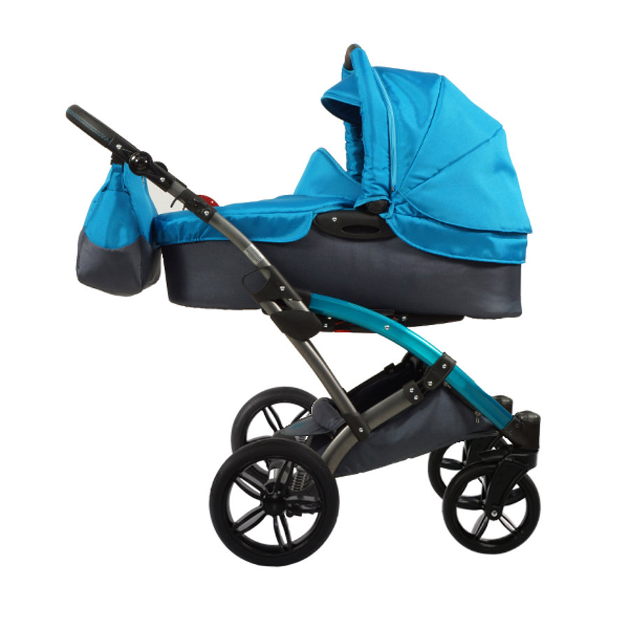 KNORR-baby Voletto Sport 2016 black-turquoise