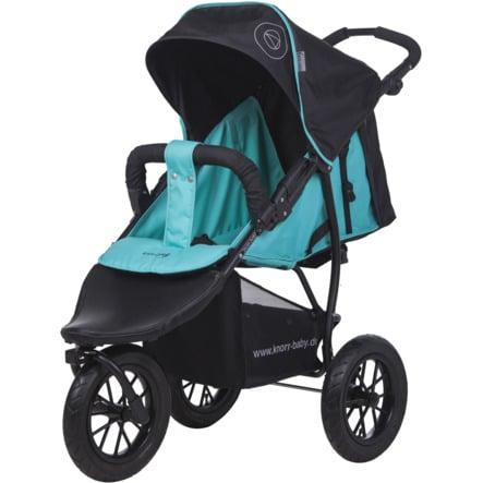 knorr-baby Poussette 3 roues Joggy S Happy Colour, bleu