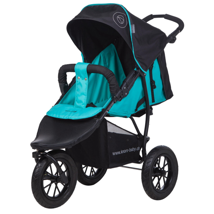 Knorr-Baby Joggingvagn Joggy S Happy Colour blå
