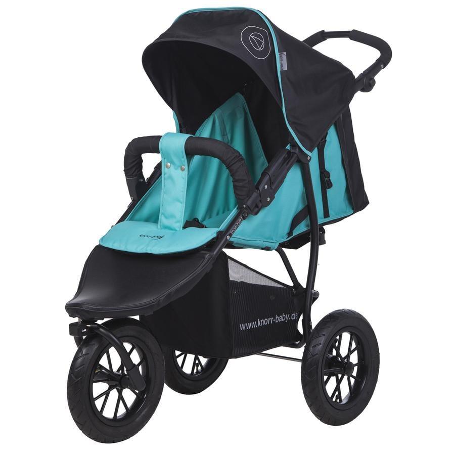 knorr-baby Wózek sportowy Joggy S Happy Colour niebieski