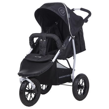 Knorr-Baby Joggingvagn Joggy S Happy Colour svart
