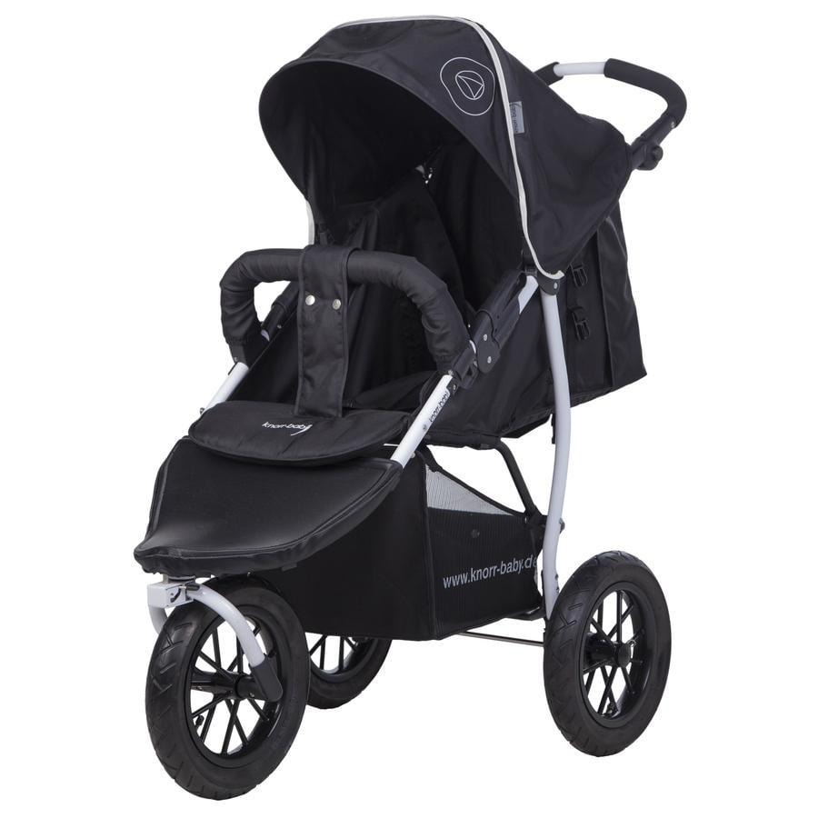 knorr-baby Kinderwagen Joggy S Happy Colour zwart