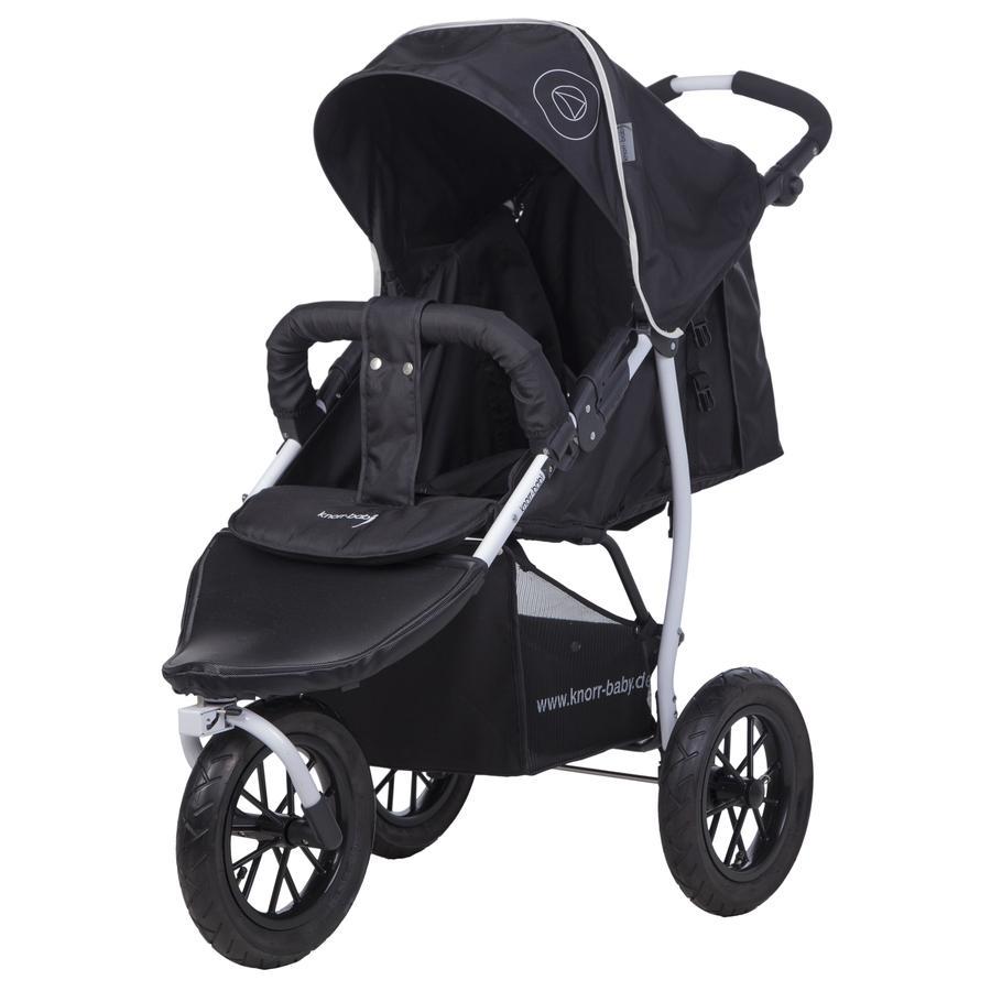 knorr-baby Sportwagen Joggy S Happy Colour zwart