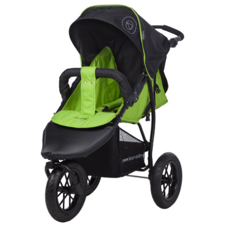 Knorr-Baby Joggingvagn Joggy S Happy Colour grön