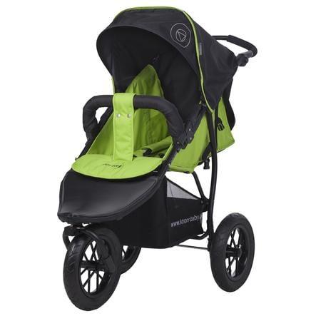 knorr-baby Poussette 3 roues Joggy S Happy Colour, vert