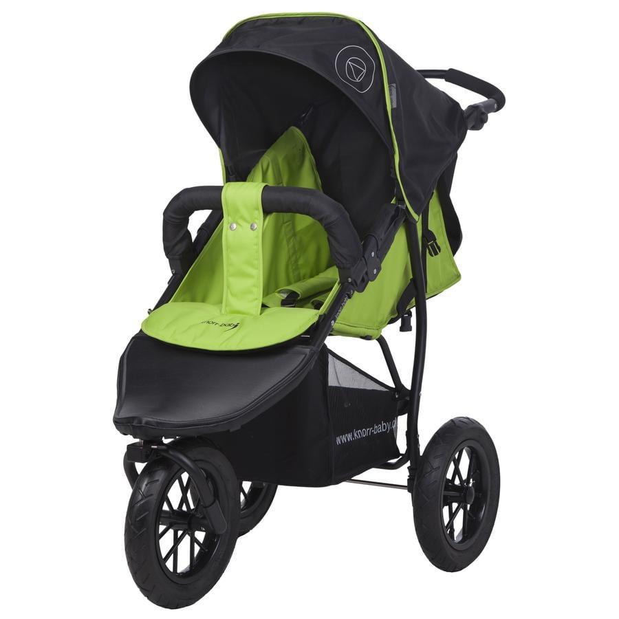 knorr baby klapvogn joggy s happy colour gr n. Black Bedroom Furniture Sets. Home Design Ideas