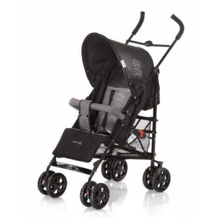 knorr-baby Klapvogn Commo, black/grey