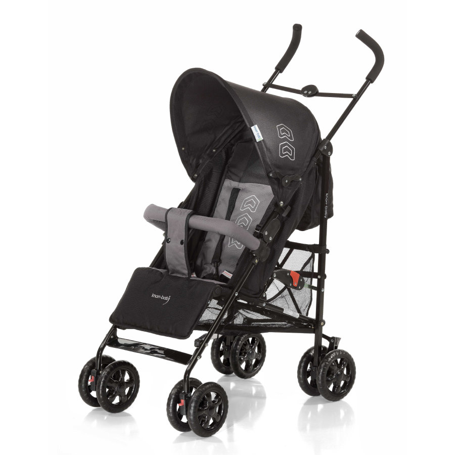 Knorr-Baby Paraplyvagn Commo black/grey