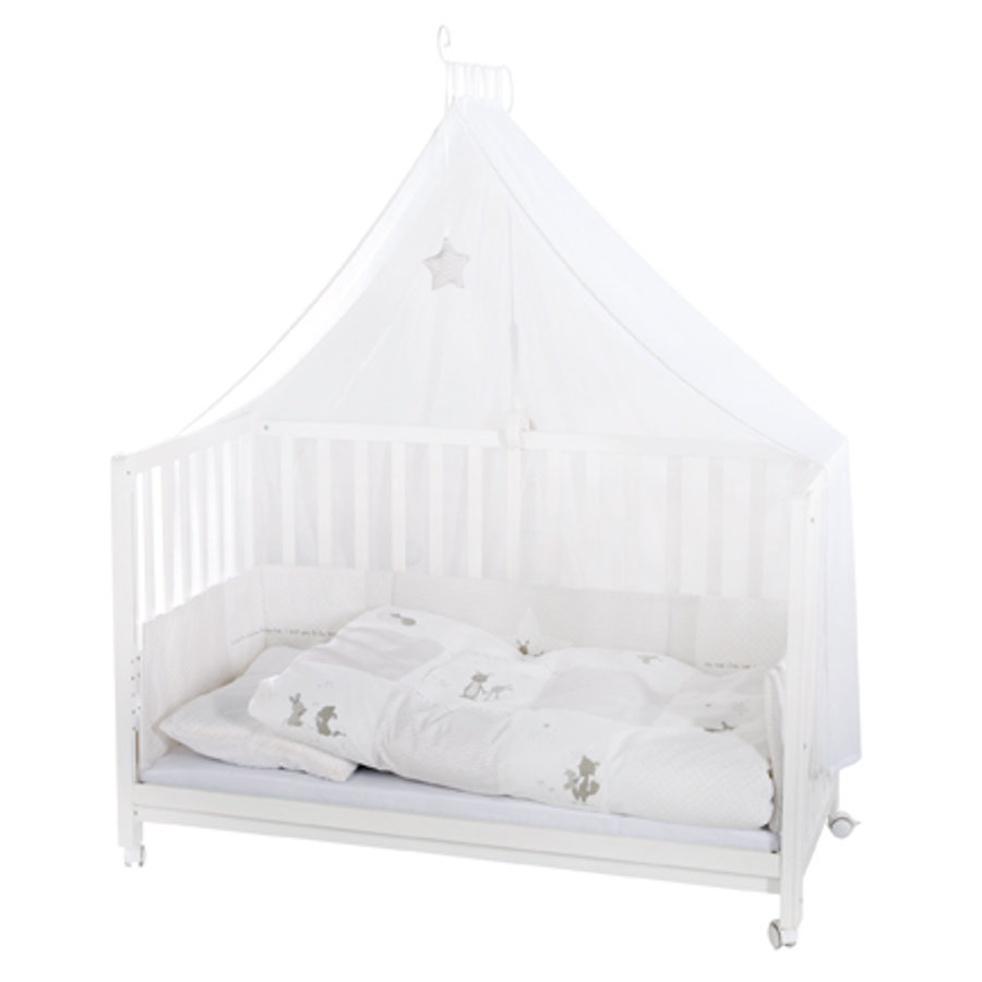 roba Room Bed Fox & Bunny bílá