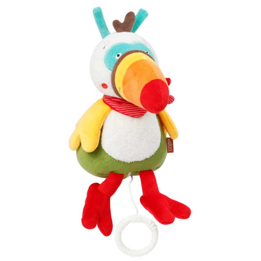Babysun Peluche musicale toucan - Jungle Heroes