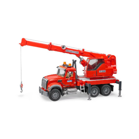 bruder® MACK Granite Kran-LKW mit Light & Sound Module 02826