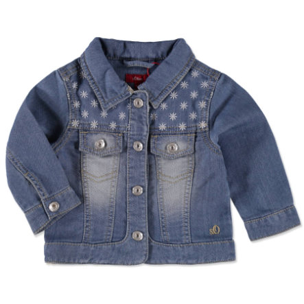 s.OLIVER Girls Jeansjacke blue denim