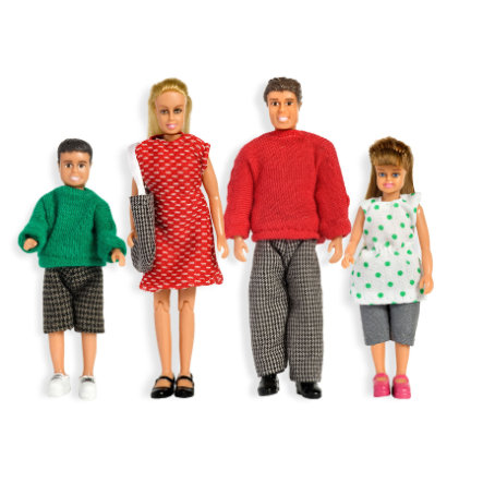 LUNDBY Puppenfamilie, Classic
